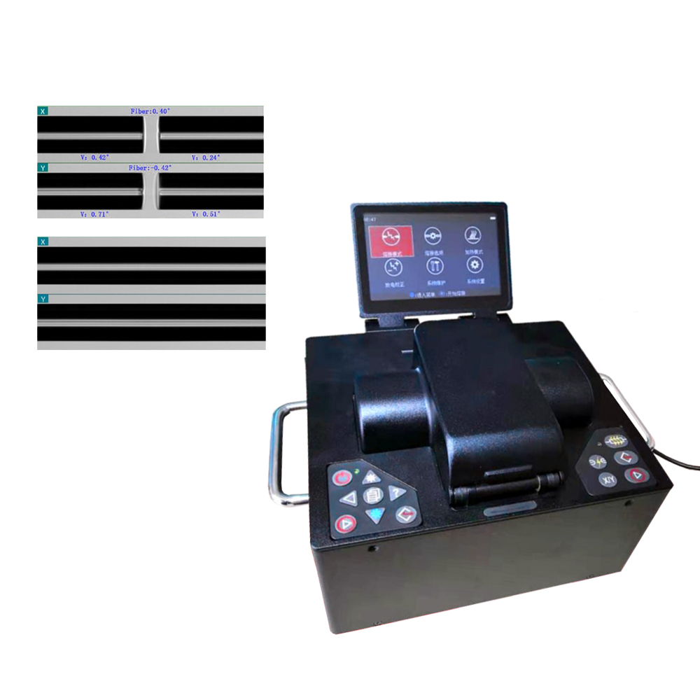 Large Diameter Fiber Fusion Splicer